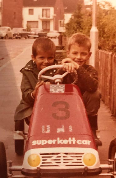 Oldtimervermietung wurde schon als Kind mit Kettcars